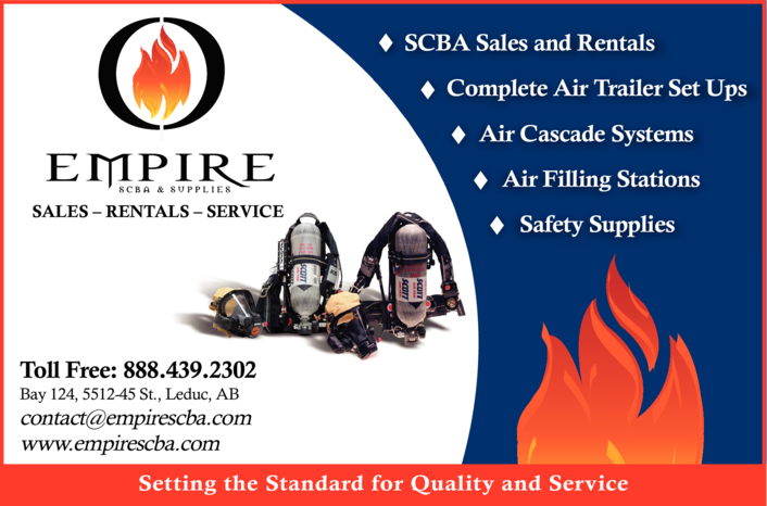 Yellow Pages Ad of Empire Scba & Supplies Inc