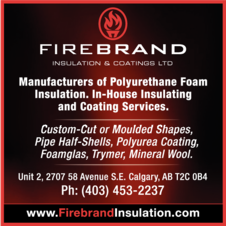 Yellow Pages Ad of Firebrand Insulation & Coatings Ltd