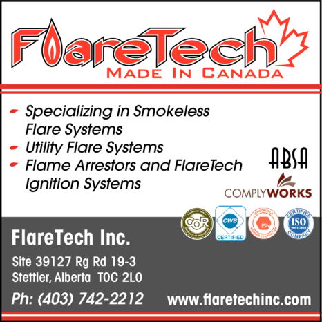 Yellow Pages Ad of Flaretech Inc