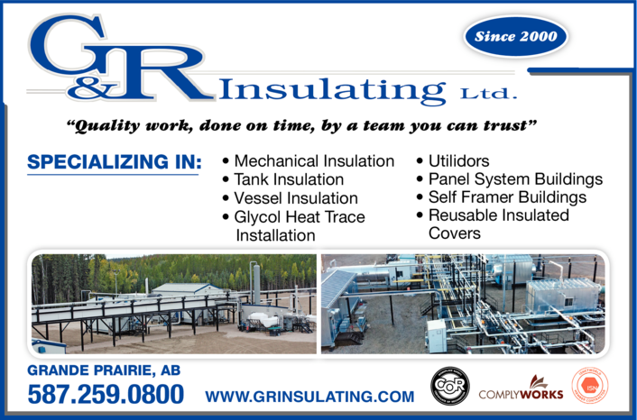 Yellow Pages Ad of G & R Insulating Ltd