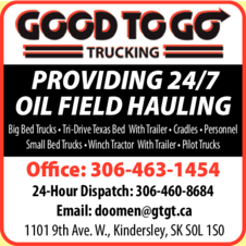 Print Ad of Good To Go Trucking