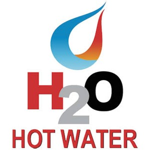 H2O Hot Water logo