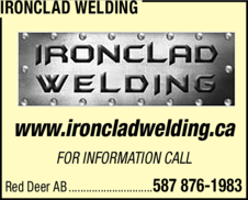Print Ad of Ironclad Welding