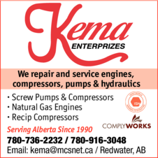 Yellow Pages Ad of Kema Enterprizes