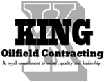 King Oilfield Contracting logo