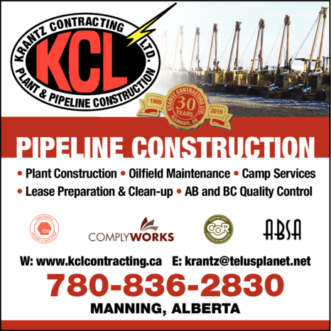 Yellow Pages Ad of Krantz Contracting Ltd