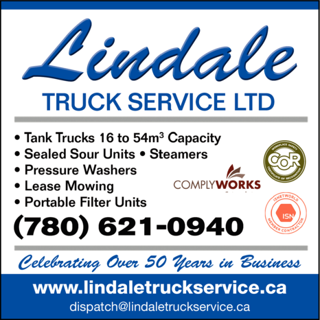 Print Ad of Lindale Truck Service Ltd