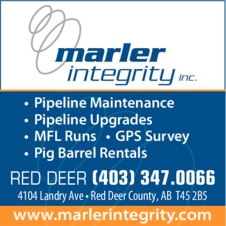 Yellow Pages Ad of Marler Integrity Inc