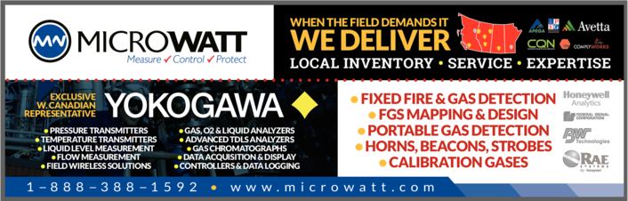 Print Ad of Microwatt Controls Ltd