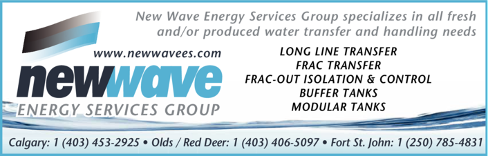 Yellow Pages Ad of New Wave Energy Services Group