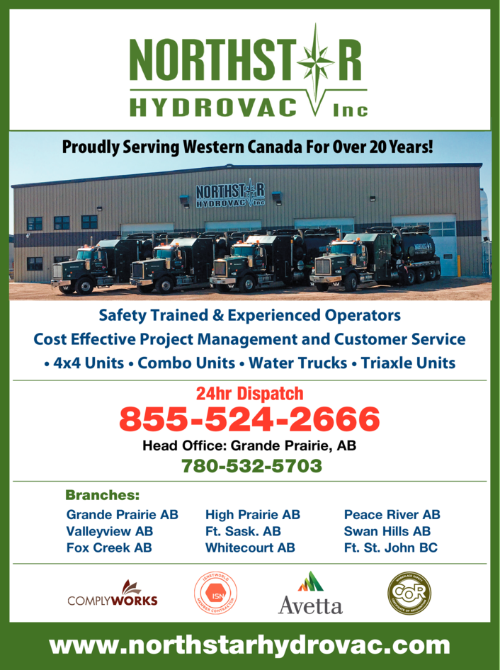 Print Ad of Northstar Hydrovac Inc