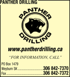 Yellow Pages Ad of Panther Drilling