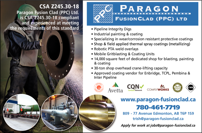 Yellow Pages Ad of Paragon Fusionclad (Ppc) Ltd