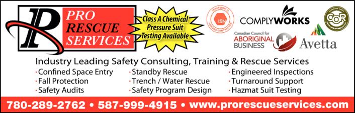 Print Ad of Pro Rescue Services