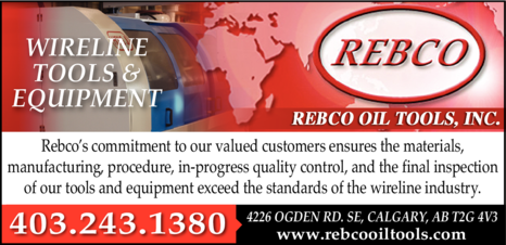 Yellow Pages Ad of Rebco Oil Tools Inc