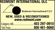 Print Ad of Redmont International Ulc
