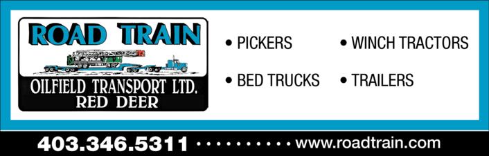 Print Ad of Road Train Oilfield Transport Ltd