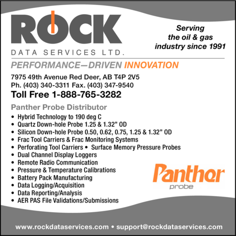 Yellow Pages Ad of Rock Data Services Ltd