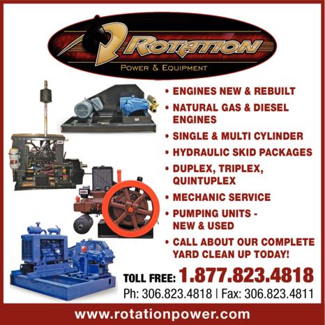 Print Ad of Rotation Power & Equipment Inc