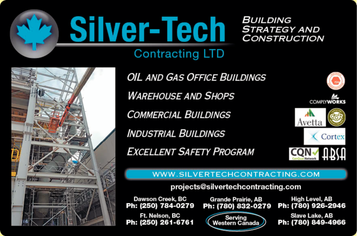 Yellow Pages Ad of Silver-Tech Contracting Ltd