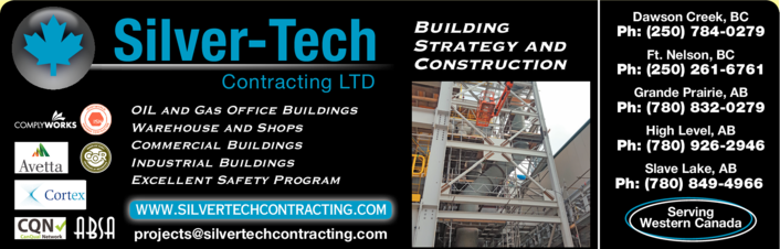 Yellow Pages Ad of Silver Tech Contracting Ltd