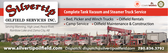 Yellow Pages Ad of Silvertip Oilfield Services Inc