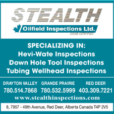 Print Ad of Stealth Oilfield Inspections Ltd