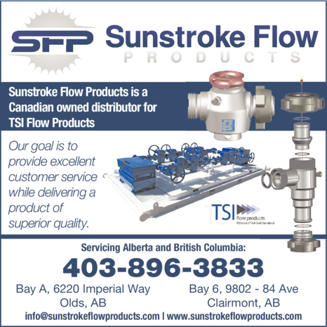 Print Ad of Sunstroke Flow Products