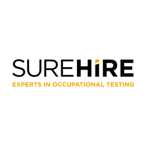 Surehire logo