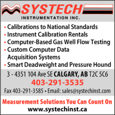 Print Ad of Systech Instrumentation Inc