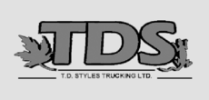 Yellow Pages Ad of T D Styles Trucking Ltd