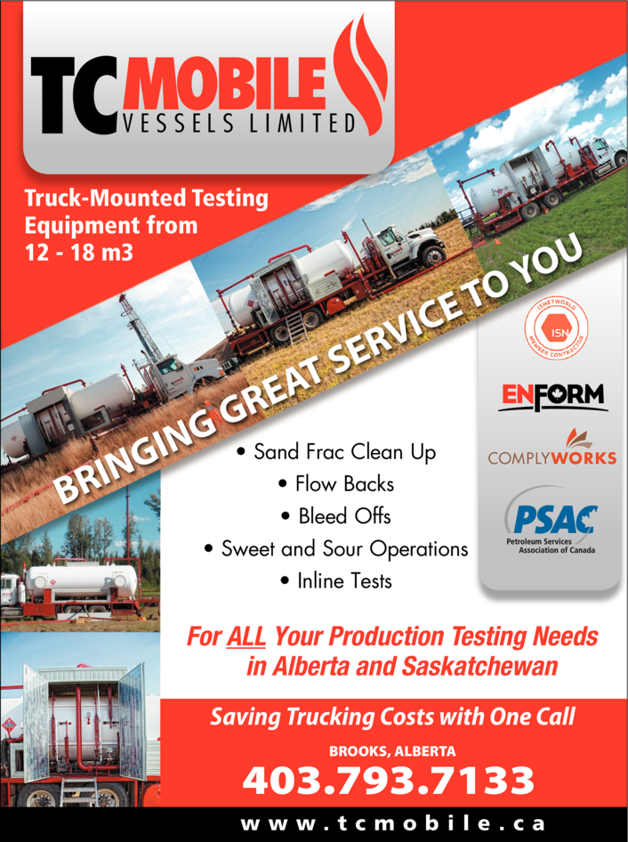 Print Ad of Tc Mobile Vessels Limited