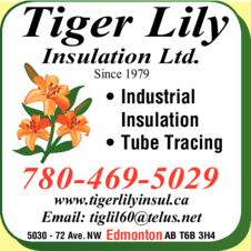 Yellow Pages Ad of Tiger Lily Insulation Ltd