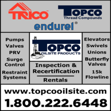Print Ad of Topco Oilsite Products Ltd