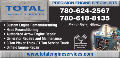 Print Ad of Total Engine Services Ltd