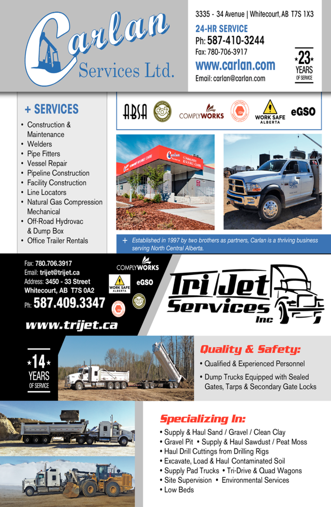 Yellow Pages Ad of Tri Jet Services Inc