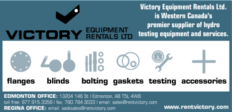 Yellow Pages Ad of Victory Equipment Rentals