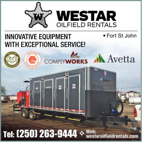Yellow Pages Ad of Westar Oilfield Rentals Inc